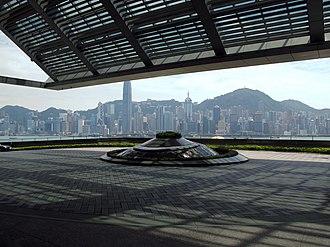 The Ritz-Carlton, Hong Kong - Image: The Ritz Carlton Hong Kong Outside Parking Area
