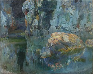 The Rock in the Pond Joaquim Mir c. 1903.jpg