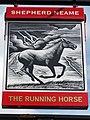 The Running Horse sign - geograph.org.uk - 2099313.jpg