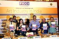 The Secretary, Ministry of Culture, Shri Jawhar Sircar releasing the report on 'Art Industry in India Policy Recommendations', in Kolkata on April 02, 2010.jpg