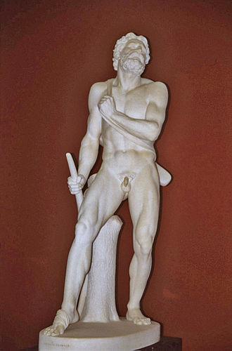 Herman Wilhelm Bissen - Image: The Wounded Philoctetes (1854 55)
