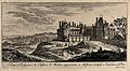 The castle at Meudon near Paris. Etching. Wellcome V0049997.jpg