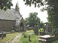 The churchyard of St Cynfarwy Church, Llechcynfarwy - geograph.org.uk - 978397.jpg