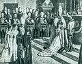 The coronation of Caroline Augusta of Bavaria as Queen of Hungary.jpg