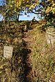 The footpath starts here^ - geograph.org.uk - 1025178.jpg