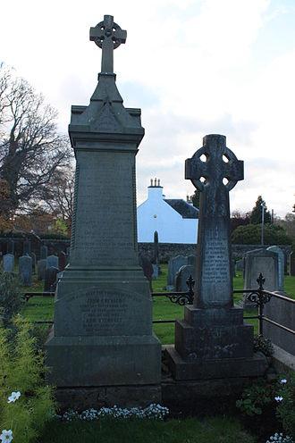 John Chesser (architect) - The grave of John Chesser, Cramond churchyard