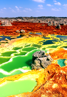 Dallol (hydrothermal system)