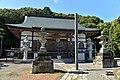 The main temple of Tojo-ji temple in Tsutchiura city, Ibaraki prefecture.jpg
