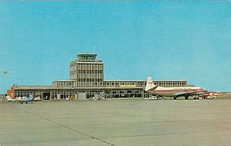 Regina International Airport - The second Regina airport, in the mid 1960s prior to the enlargement and renovations of 1983-86