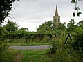 The spire of Great Gidding Church - geograph.org.uk - 230138.jpg