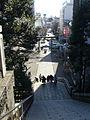The stone steps of Utsunomiya Futaarayama-jinja 2006.jpg