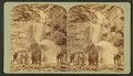 The three falls, Cheyenne Canyon, 150 feet high, from the bed of the canyon, by Gurnsey, B. H. (Byron H.), 1833-1880.png