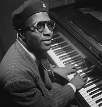 Thelonious Monk Thelonious Monk, Minton's Playhouse, New York, N.Y., ca. Sept. 1947 (William P. Gottlieb 06191).jpg