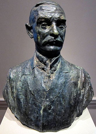 Thomas Fortune Ryan - 1910 bust of Thomas Fortune Ryan, by Auguste Rodin