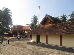 Thrikodithanam Mahavishnu Temple - The shrines in the temple