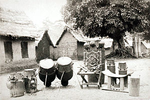 Throne of Weapons - The Throne of Begoro in Ghana in the 1880s