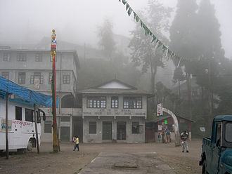 Tibetan Refugee Self Help Centre's Hill Top Shop in Darjeeling, India taken in September 2004. It was established on 2 October 1959, the same year the Prime Minister Nehru gave refuge to The 14th Dalai Lama his Tibetan government-in-exile. Tibetan Refugee Self Help Darjeeling.jpg