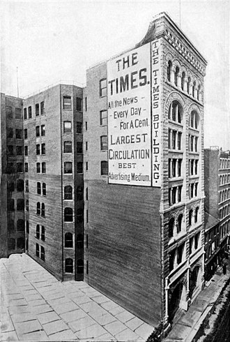 The Pittsburg Times - Times Building, 1890s