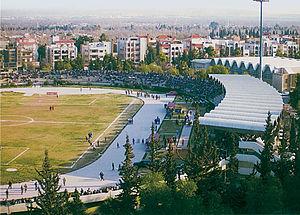 Tishreen Stadium - Image: Tishreen stad Damascus
