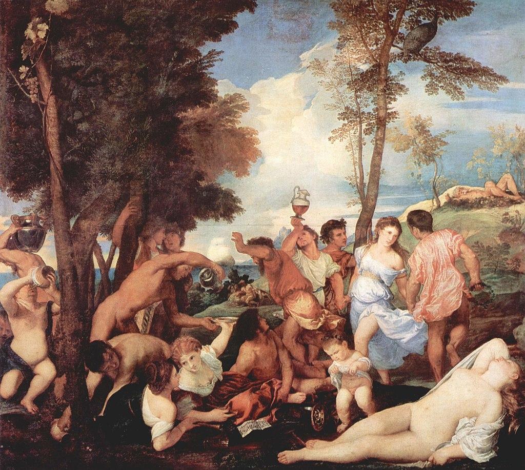 维纳斯/提香意大利画家Tiziano Vecellio (Italian, born circa 1485–1576) - 文铮 - 柳州文铮