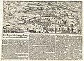 Tocht van het leger van Ernst Casimir door Brabant en de legering in de Langestraat, 1625 Het Leger inde Lange-straet gheleghen tusschen 'sHertogen-bosch ende Breda (titel op object), RP-P-OB-81.105.jpg