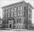 Toledo Medical College, built in 1896, at Cherry and Page streets.jpg
