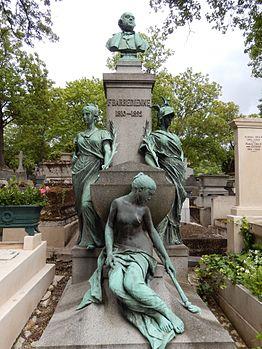 Tombe de Ferdinand Barbedienne (cimetière du Père Lachaise).JPG