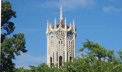 Top of University of Auckland Clock Tower