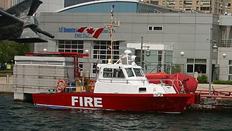 Fireboats of Toronto - Image: Toronto fireboat Sora (cropped)