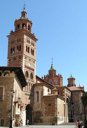 Teruel - View of the Mudéjar Cathedral of Teruel.