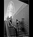 Torre Agbar des del subsòl.jpg