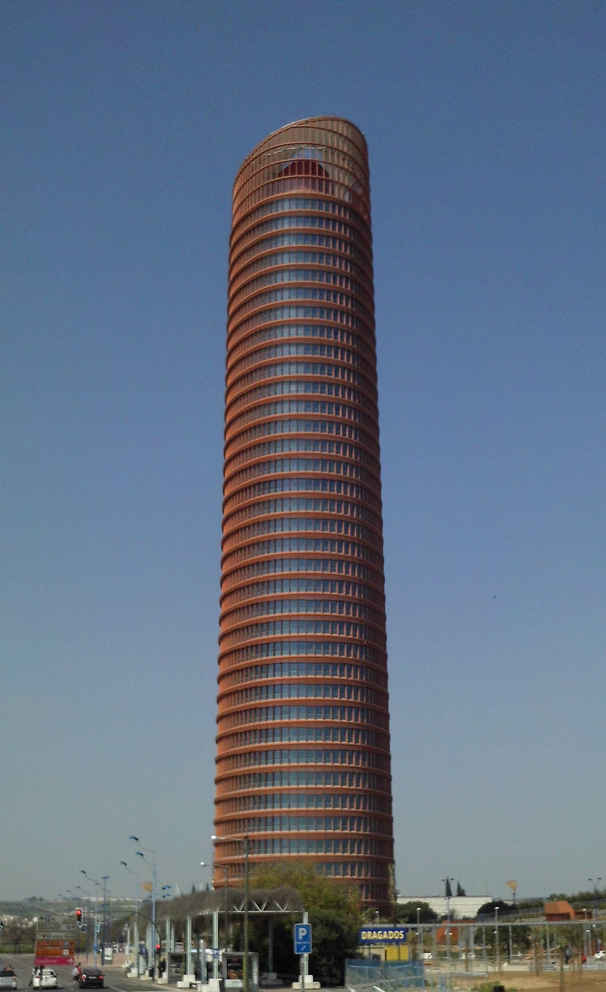 Torre sevilla wikipedia la enciclopedia libre for Oficinas caixa sevilla