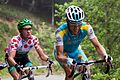 Tour de France 2012, voeckler en kessiakof (14869545742).jpg