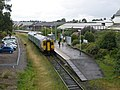 Train from Bidston, at Wrexham - geograph.org.uk - 1409928.jpg