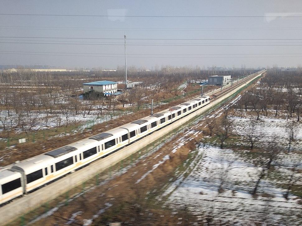 Train of Zhengzhou Metro Line 2, 20180112 135737