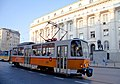 Tram in Sofia near Palace of Justice 2012 PD 039.jpg