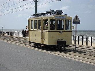 Vicinal tramway - Image: Tramparade 4 Benzinetram