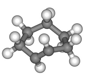 Cycloheptene - Image: Trans cycloheptene 3D