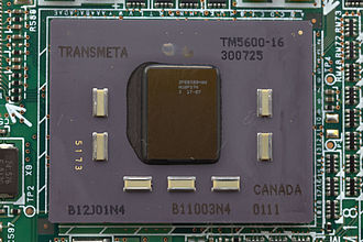 Transmeta - A Transmeta CPU from a Fujitsu Lifebook P series laptop