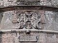 Trento-Castello del Buonconsiglio-plaque on bastion at entrance.jpg