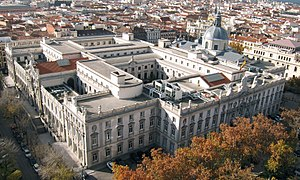 Supreme Court of Spain - Image: Tribunal Supremo, Madrid
