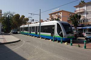 Vélez-Málaga - Tram Service (now ceased).
