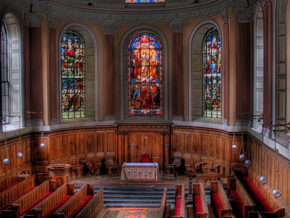 Trinity College Chapel, Dublin