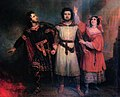 Trio act5 Robert le Diable by Meyerbeer - second painting by Lépaulle 1835 - Letellier 2012.jpg