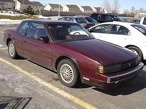 GM E platform - 1988 Oldsmobile Toronado Troféo