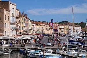 Stadtansicht von Saint Tropez