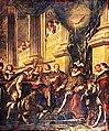Troy - Premier chapitre de l'Ordre du Saint-Esprit tenu par Henri IV dans l'église du couvent des Grands-Augustins à Paris (1595).jpg