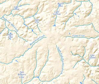 Tucker, Georgia - Tucker creeks and streams