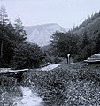 Turistaút a Semmeringbahn mentén (Semmeringbahn Wanderweg). Fortepan 96102.jpg