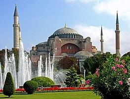 A Hagia Szophia Isztambulban